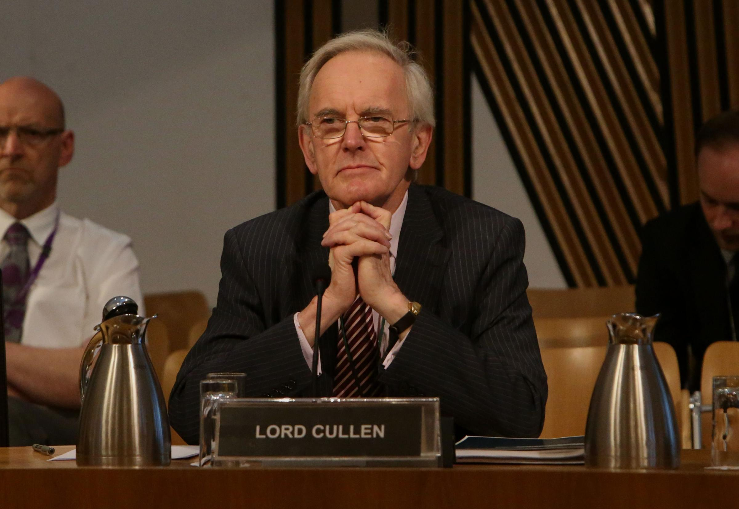 Lord Cullen to step down from his Abertay University role