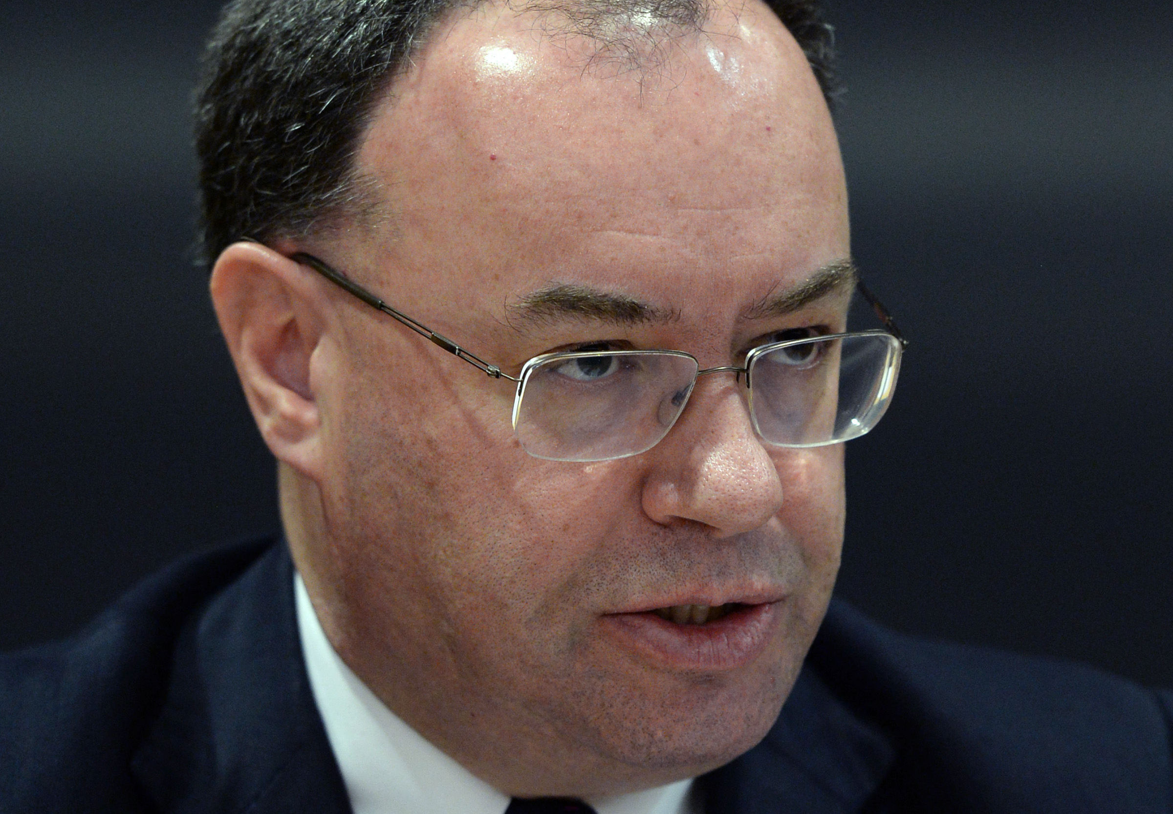 Andrew Bailey, chief executive of the Financial Conduct Authority