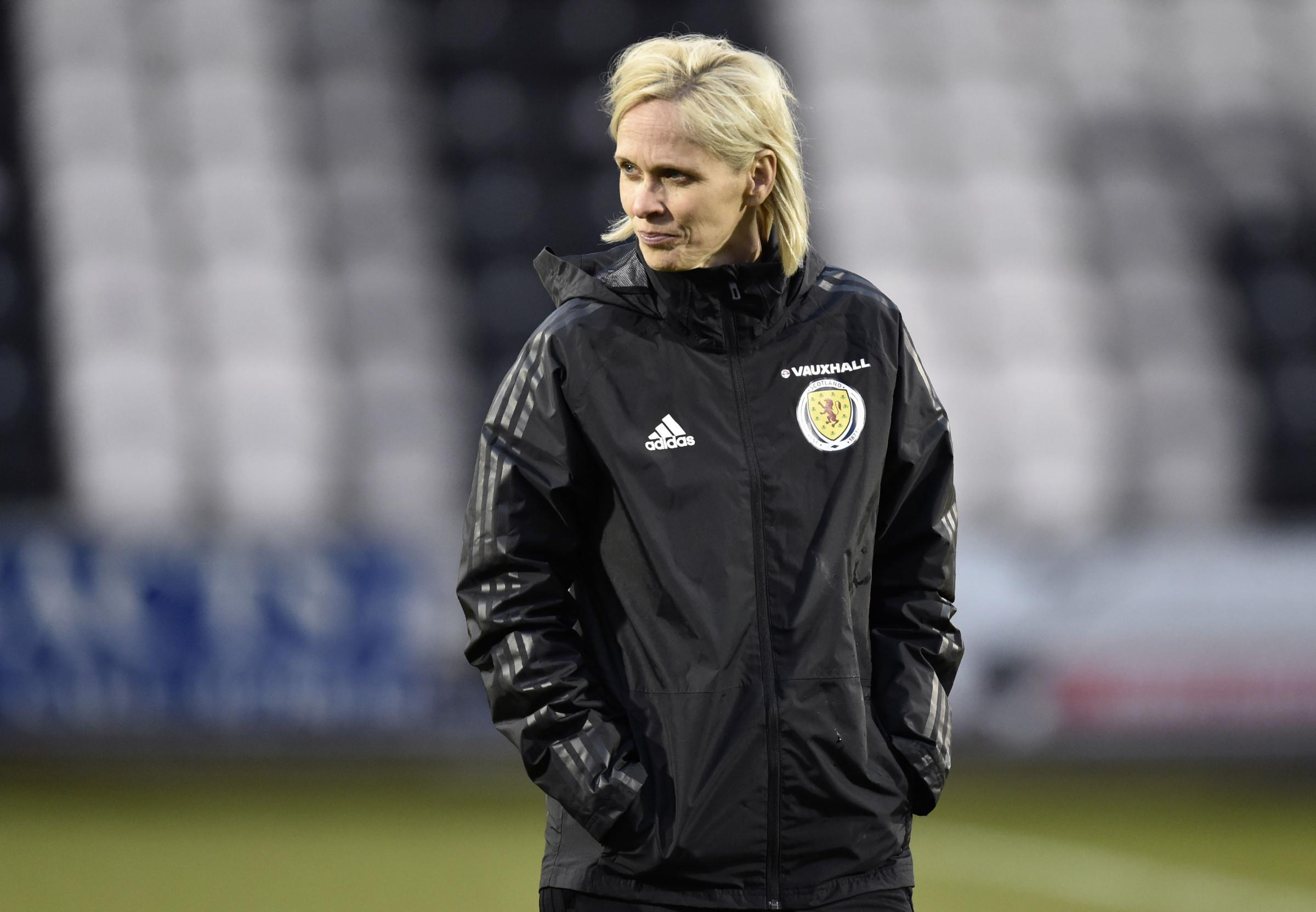 Scotland head coach Shelley Kerr is confident her team will secure a win against Belarus this evening. Picture: SNS