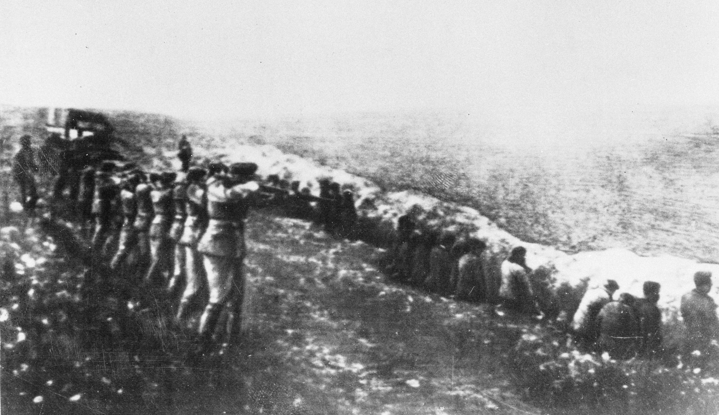 Wilhelm Karl Friedrich Hoffmeister was in Babi Yar, Kiev around the time 34,000 people were massacred there. Photograph: AP