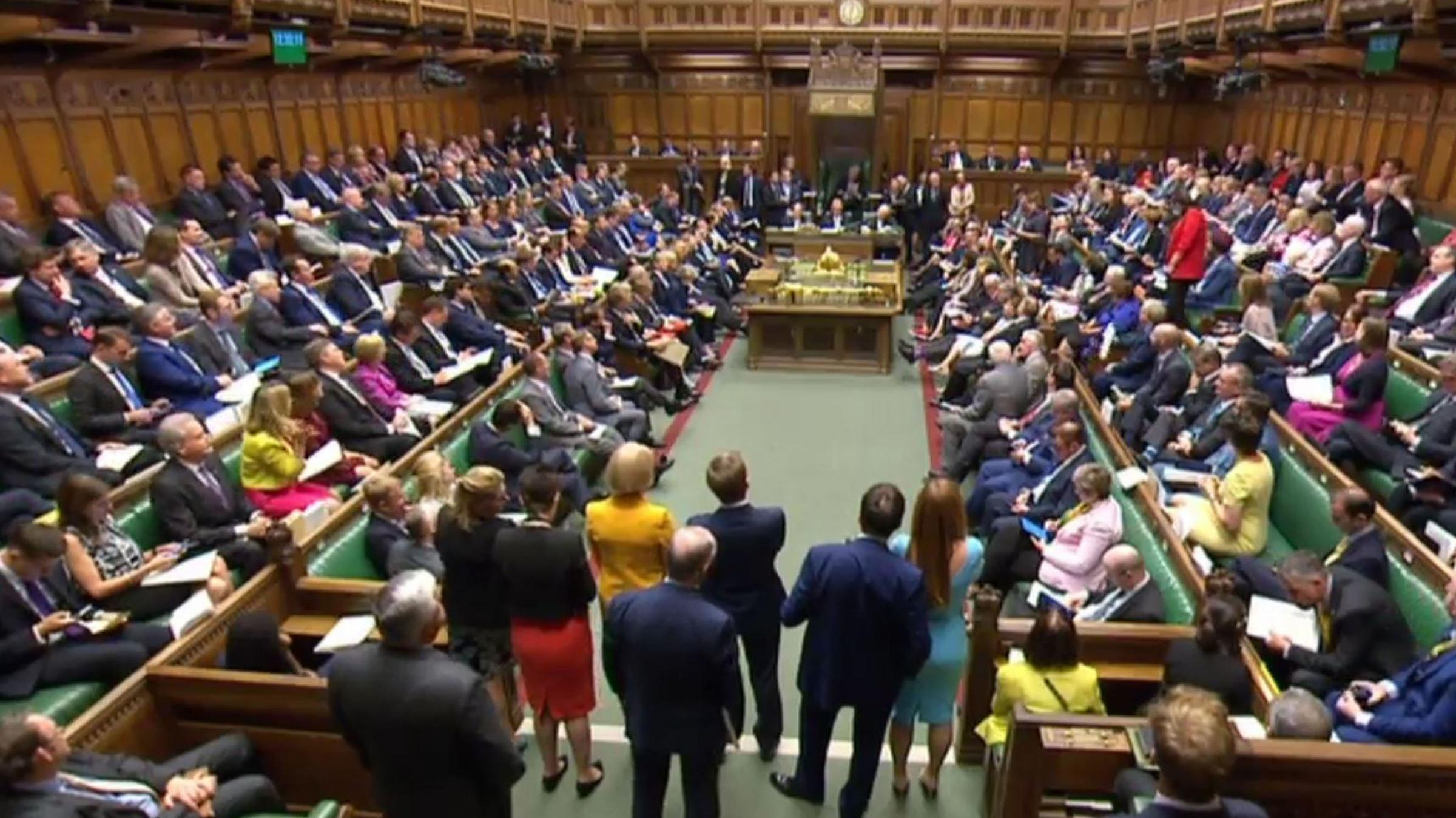 Two major issues related to Scotland were again raised in the House of Commons. Photograph: PA