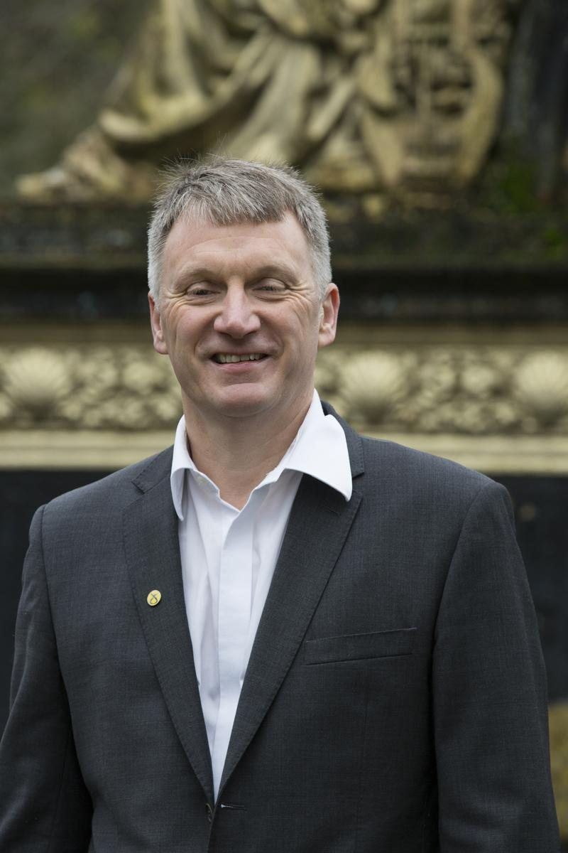 Ivan McKee is one of the joint conveners