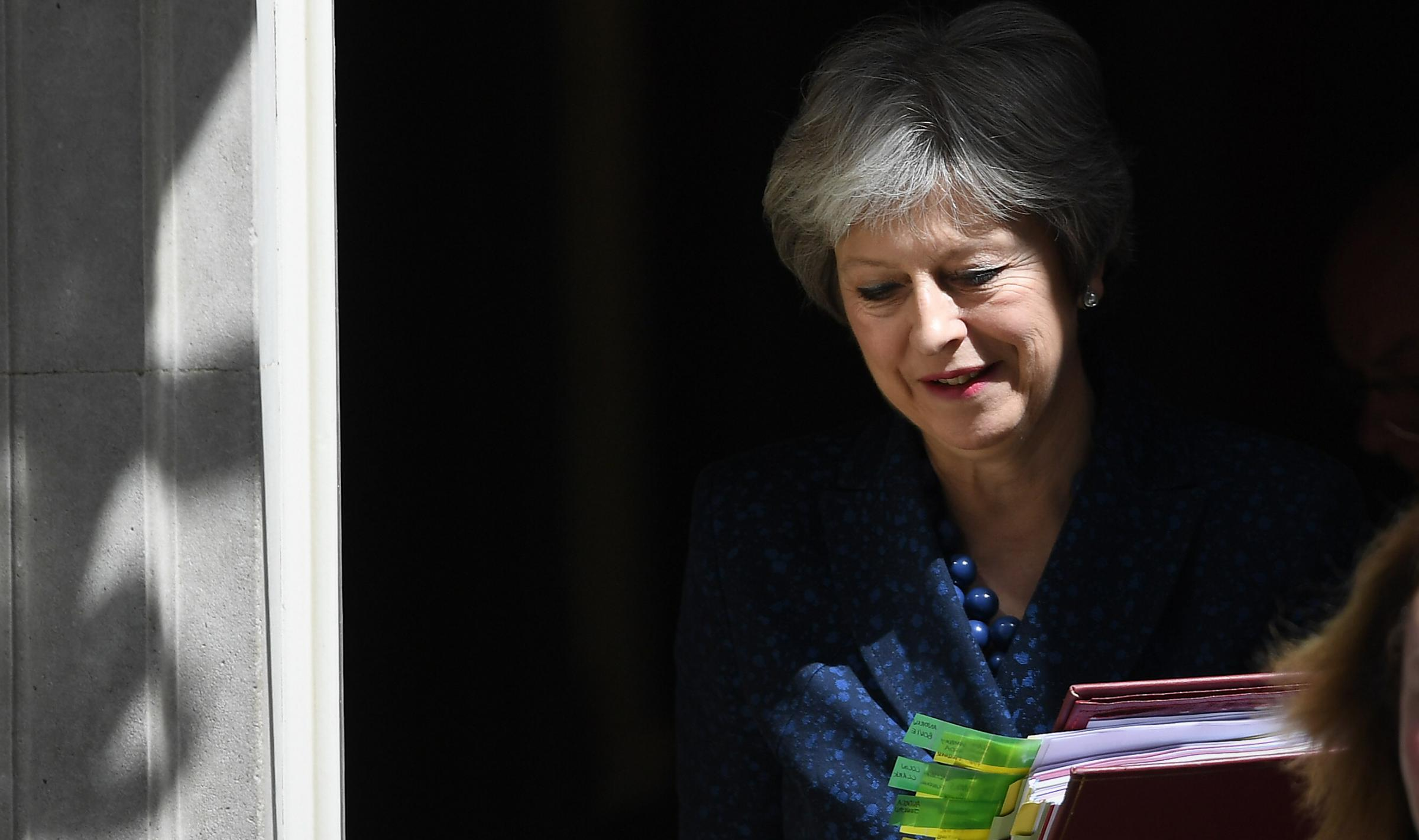 Theresa May had initially wanted the UK's future relationship with the EU to be open ended