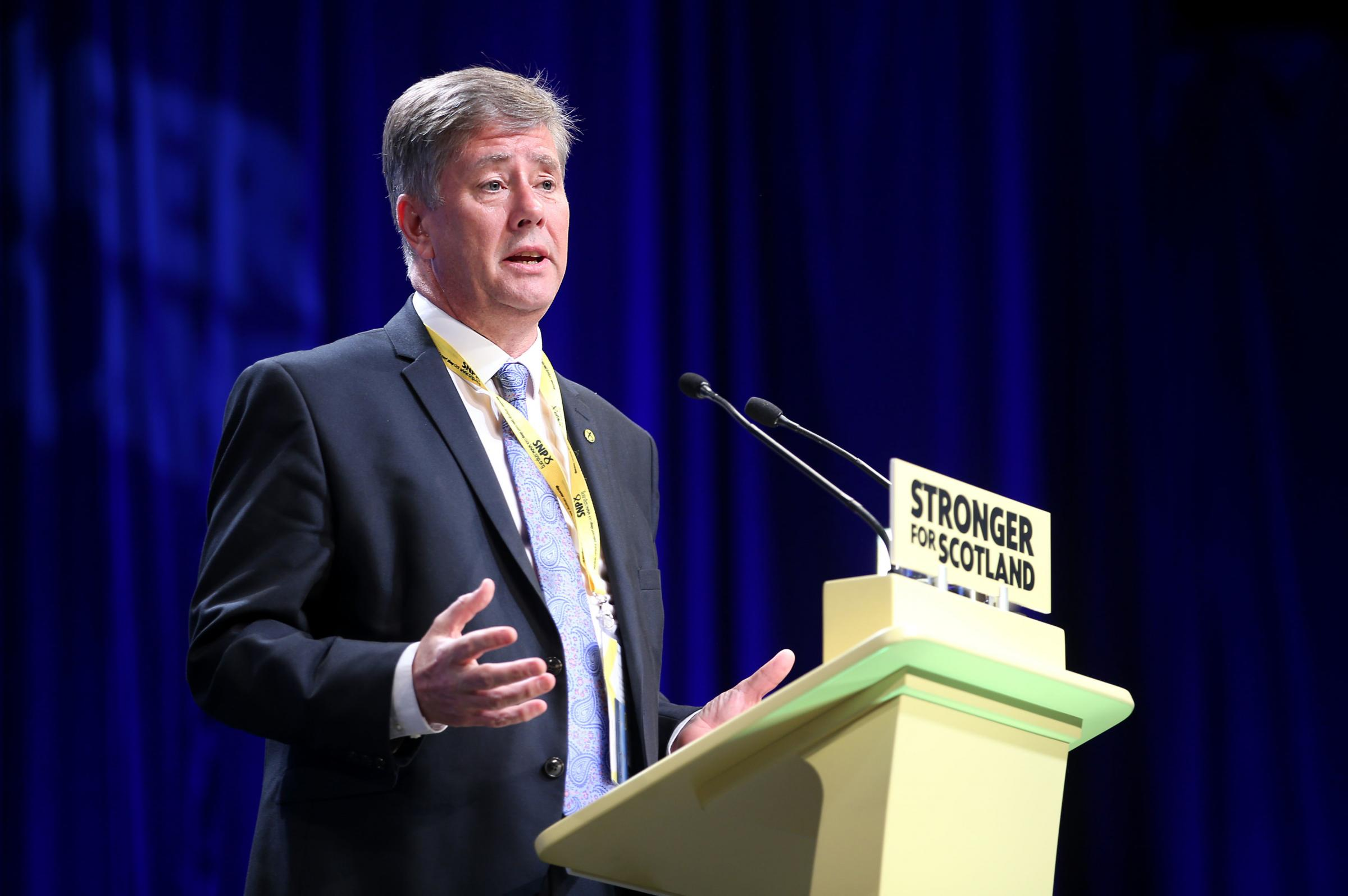 SNP depute leader Keith Brown said the movement's 'strength and depth' had been shown