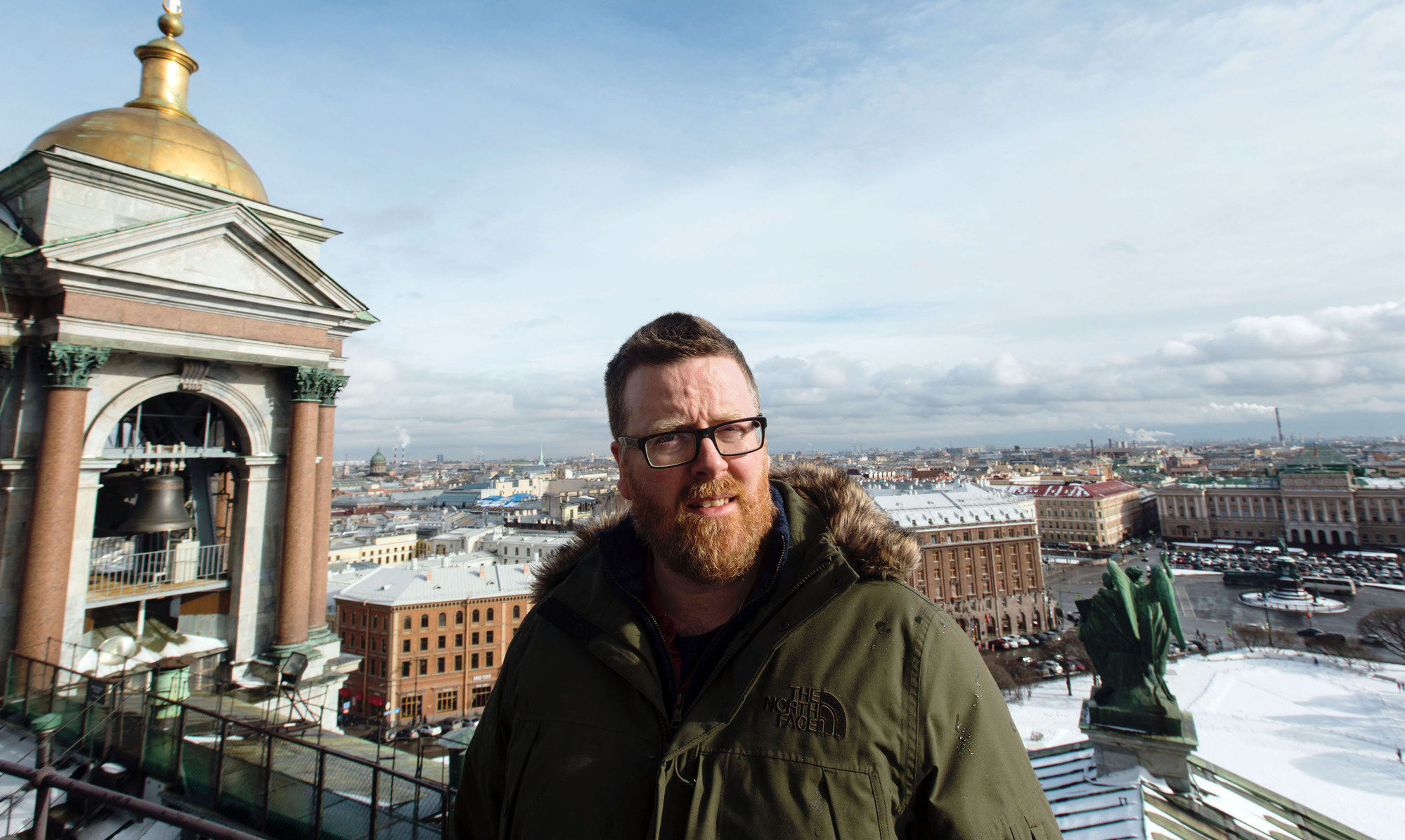 Frankie Boyle heads to the 2018 host nation ahead of next week's World Cup