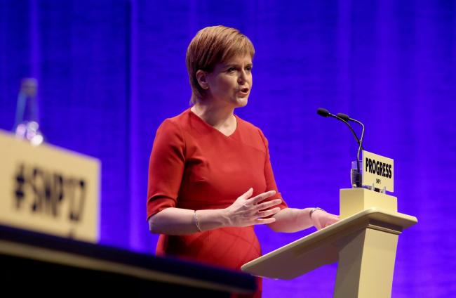 Nicola Sturgeon's speech at the SNP conference in Aberdeen had independence at its heart