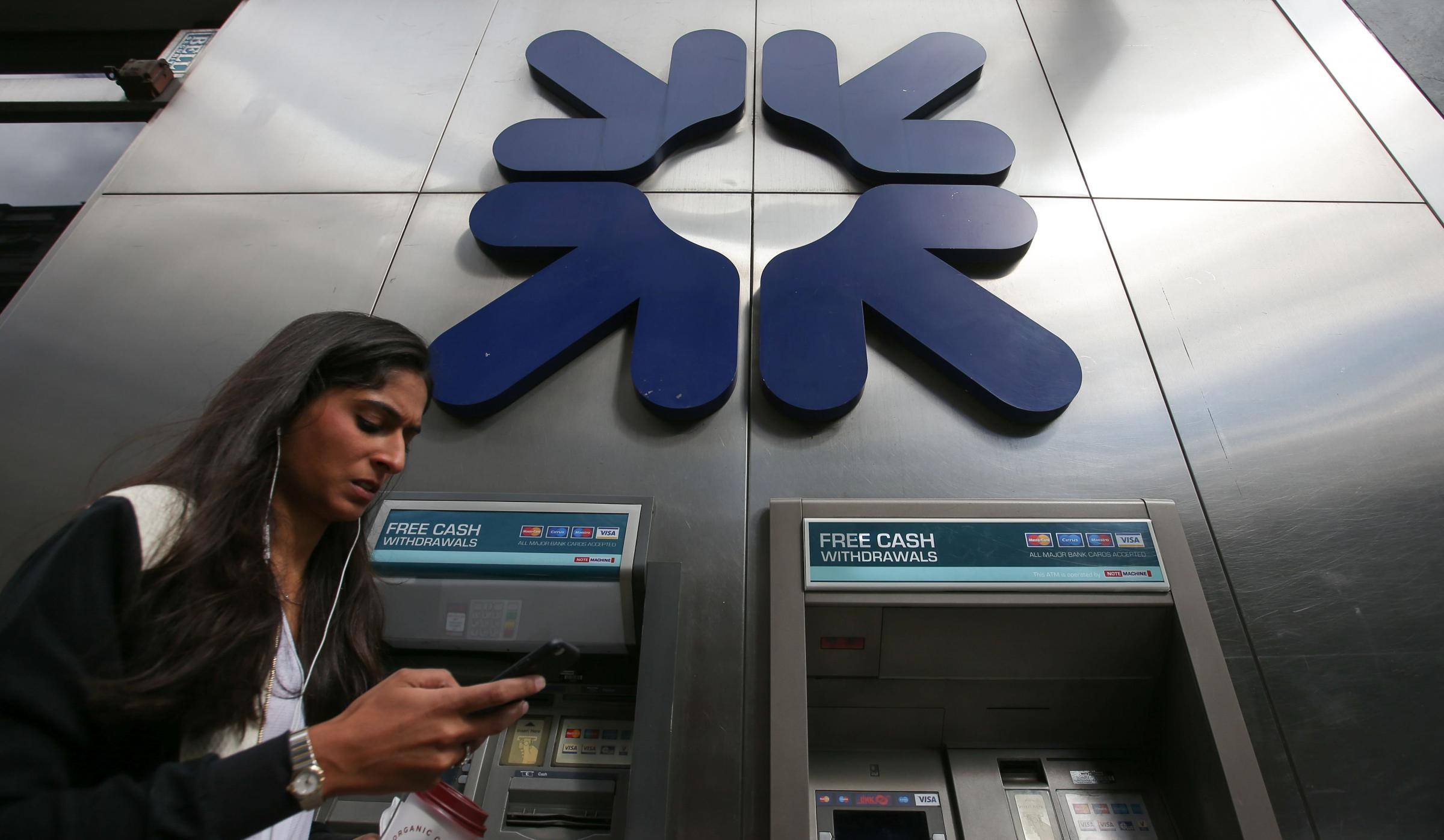 RBS has decided to close 52 of its branches across Scotland: Getty