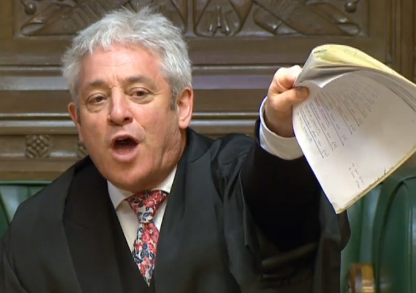 Speaker John Bercow's treatment of the SNP yesterday was inexcusable