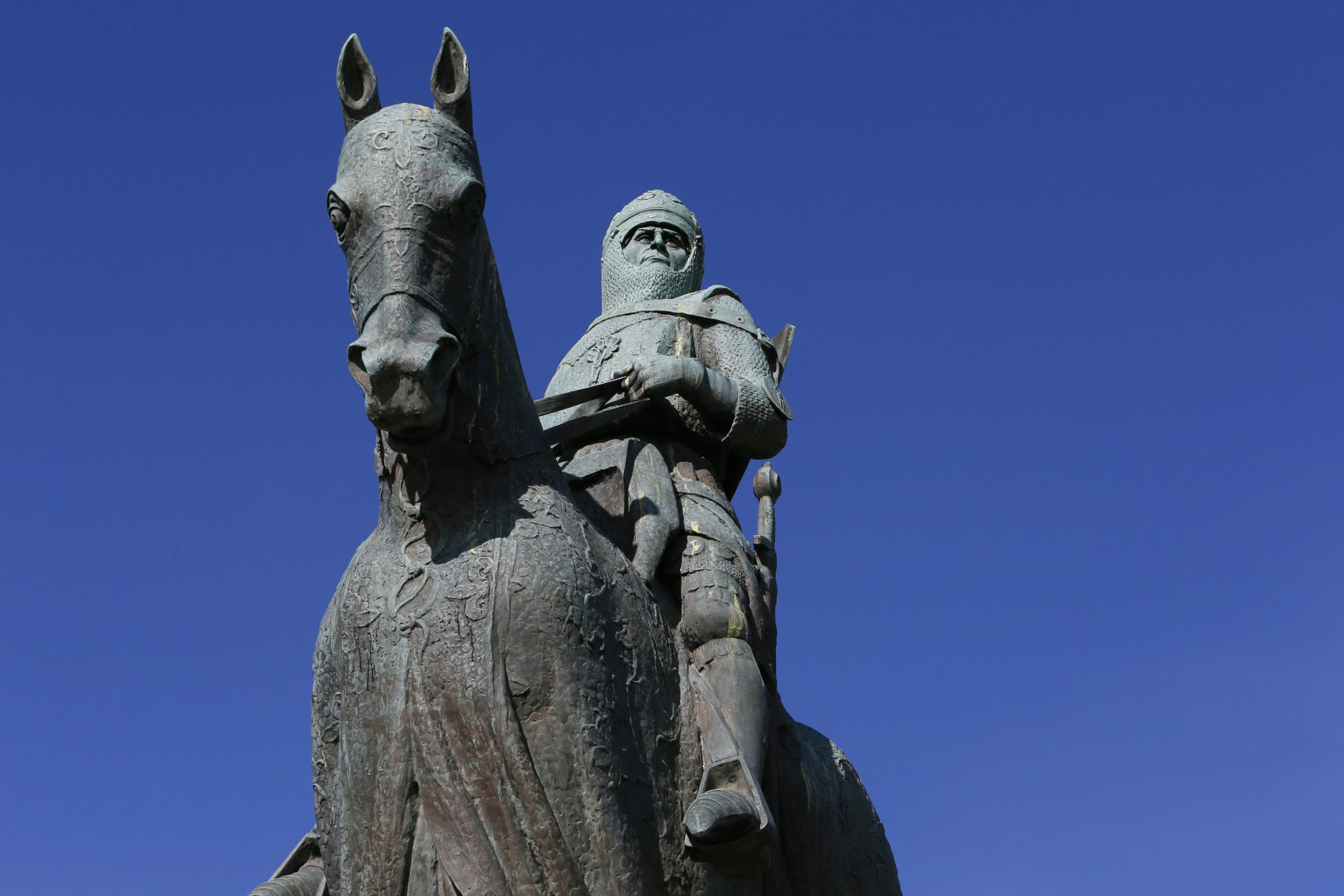The statue of Robert the Bruce will be the destination of the All Under One Banner march marking the anniversary of the Battle of Bannockburn