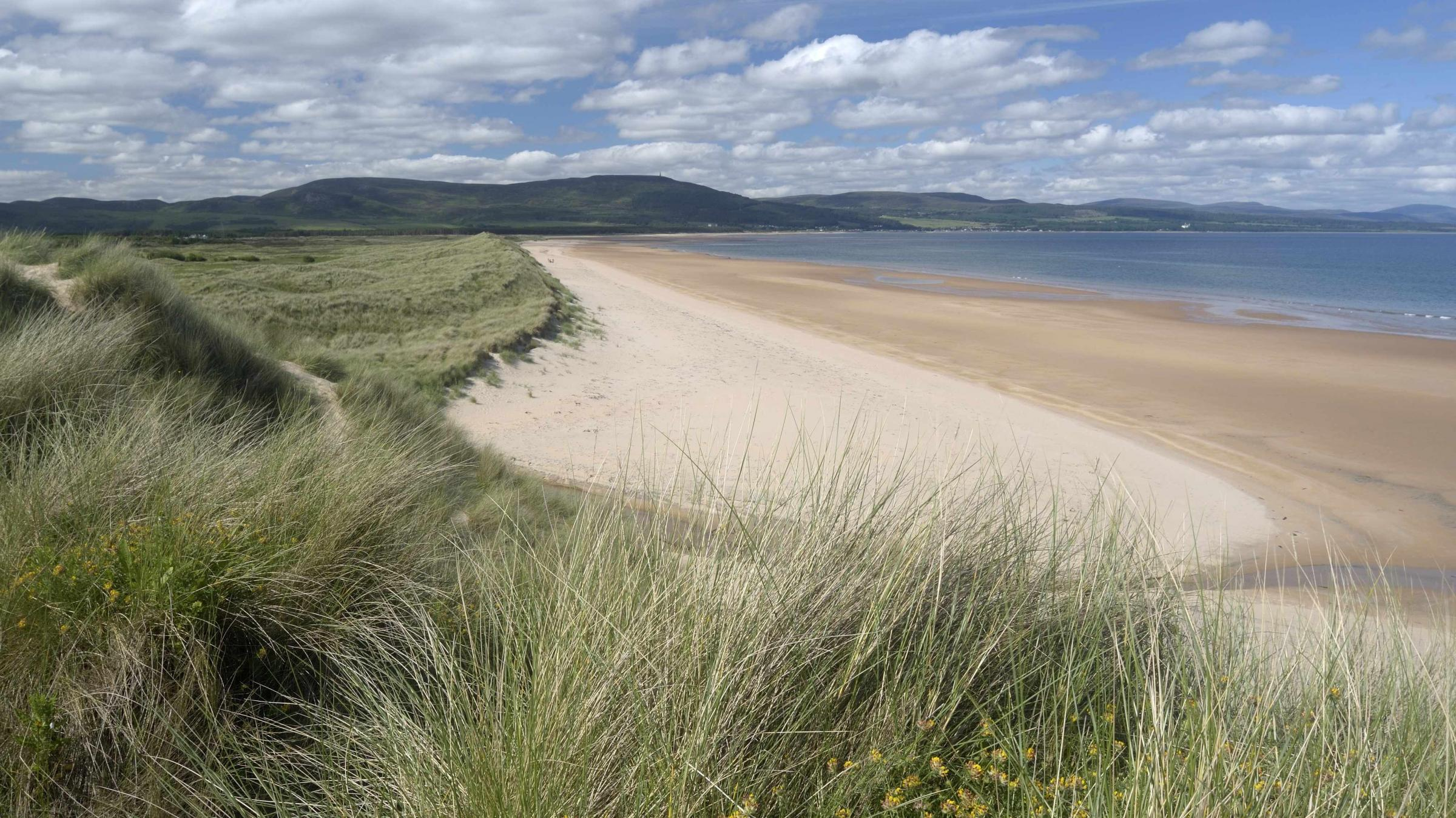 The meeting will discuss the controversial plan for a golf course on the sand dunes near Embo in Sutherland
