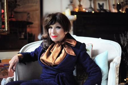 The National: CLASSY: Fenella Fielding will be reading excepts from her memoir, 'Do You Mind If I Smoke?'       Picture: ETIENNE GILFILLAN