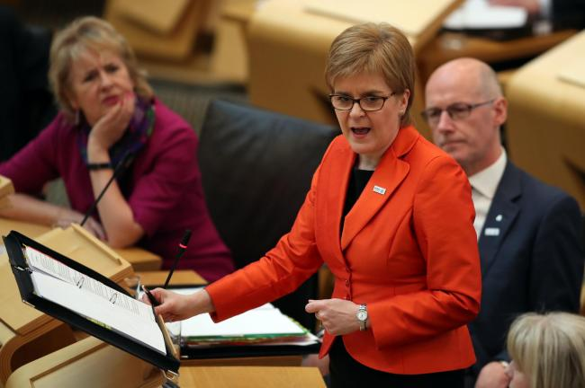 A spokesman for Nicola Sturgeon said the comments are helping the case for independence