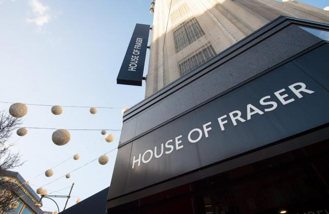 House of Fraser: 17,000 jobs at risk as chain goes into administration