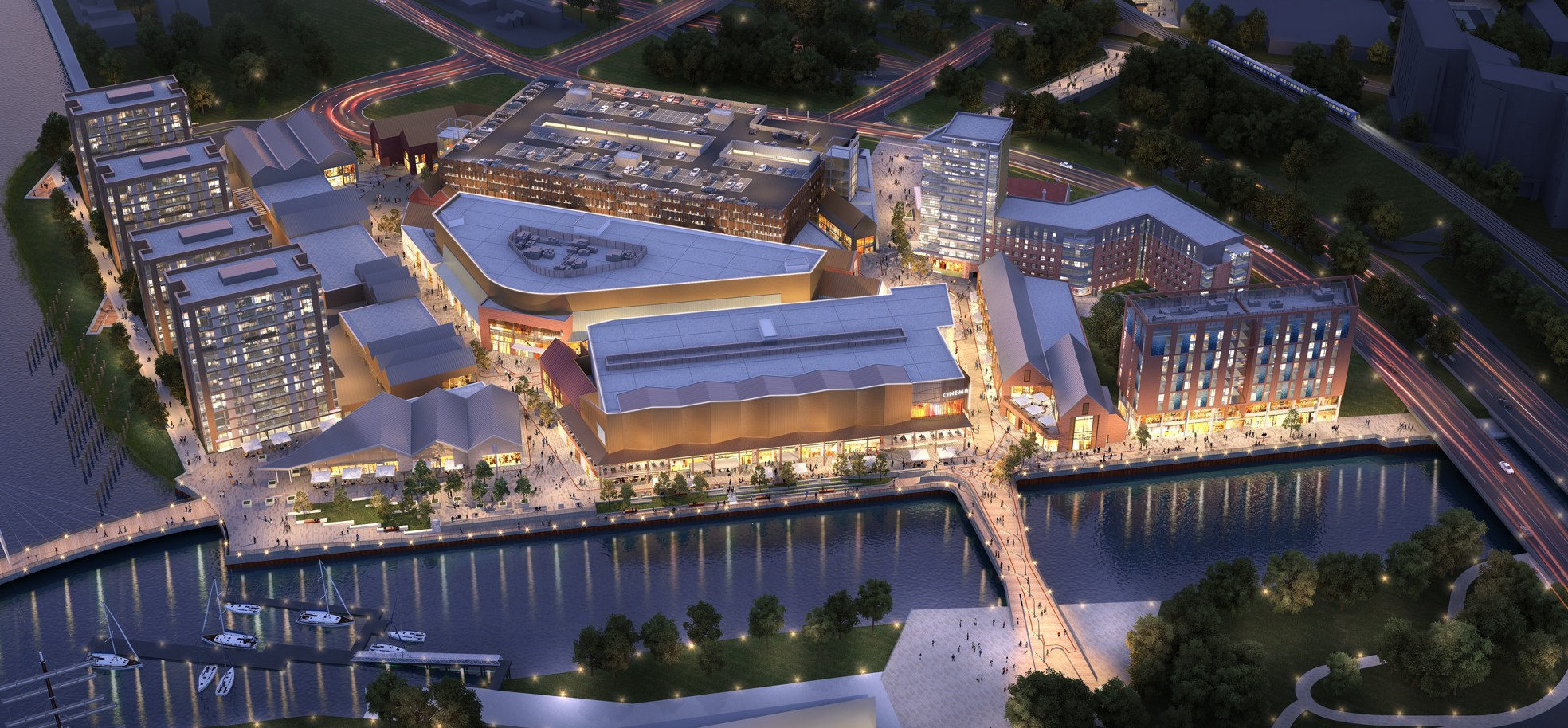 The Glasgow Harbour Lifestyle Outlet will create retail and construction jobs