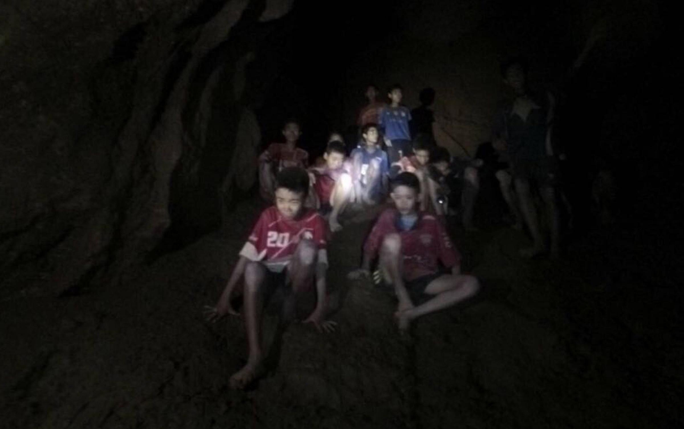 The boys will remain in the cave until authorities decide if it is safe to remove them