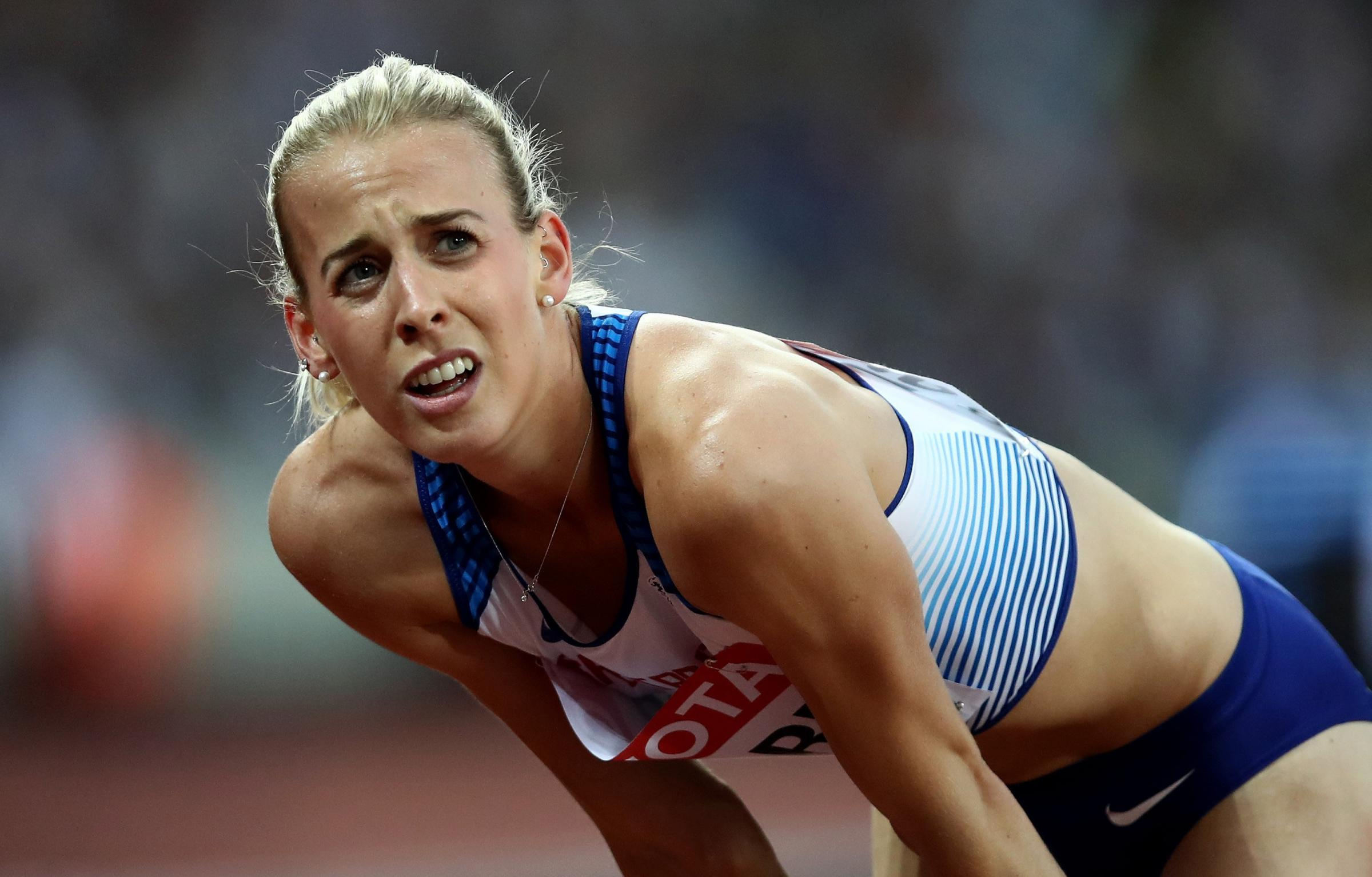 Lynsey Sharp complained about her Scotland team-mate Laura Muir being added to the 800m starting line-up in Birmingham last weekend