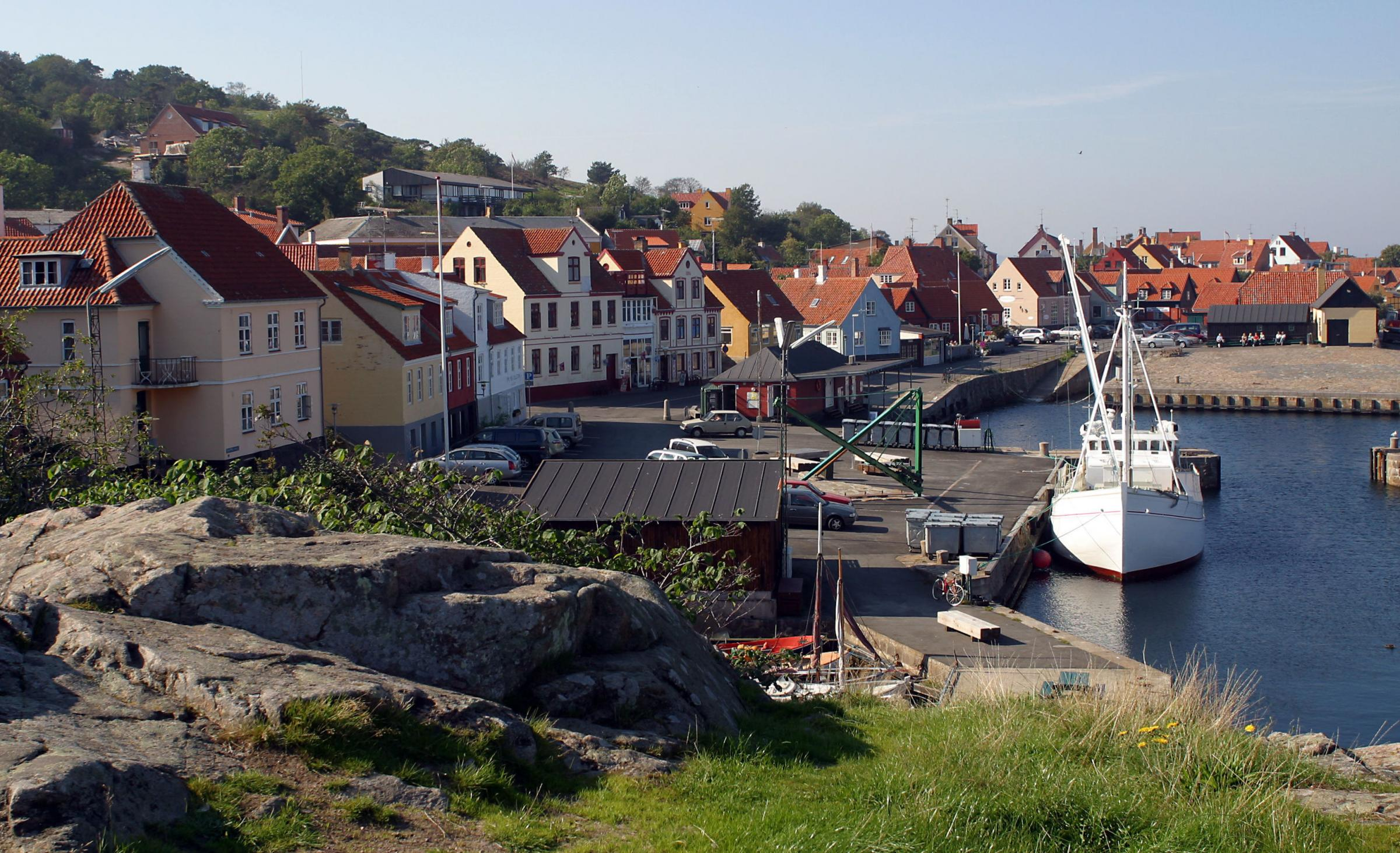 It's not just the bacon that sizzles on the Danish island of Bornholm