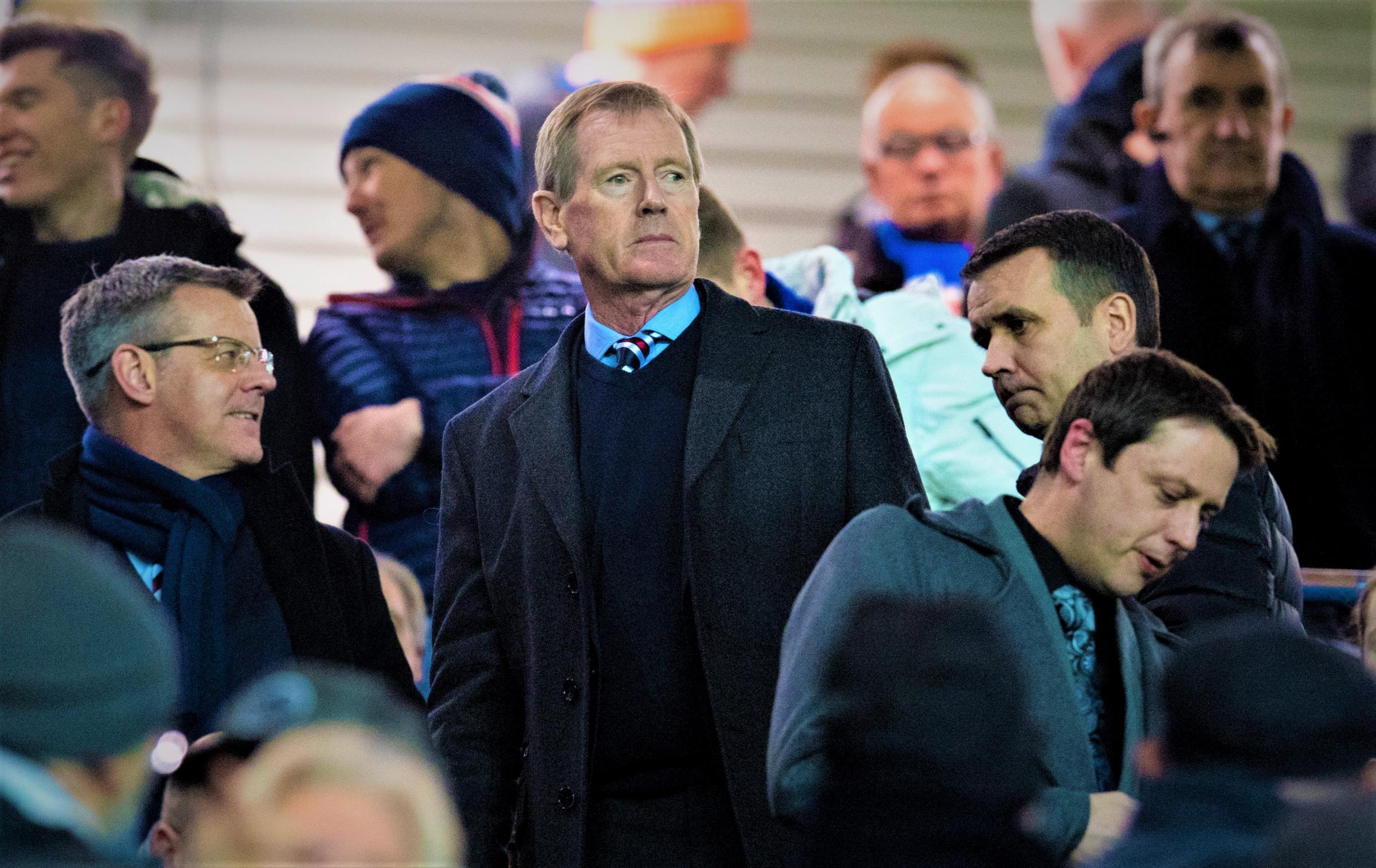 Rangers chairman Dave King at Ibrox.