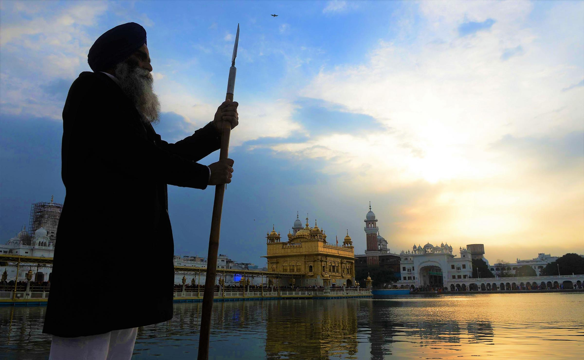 Campaigners claim Sikhs have been the victims of economic exploitation in India