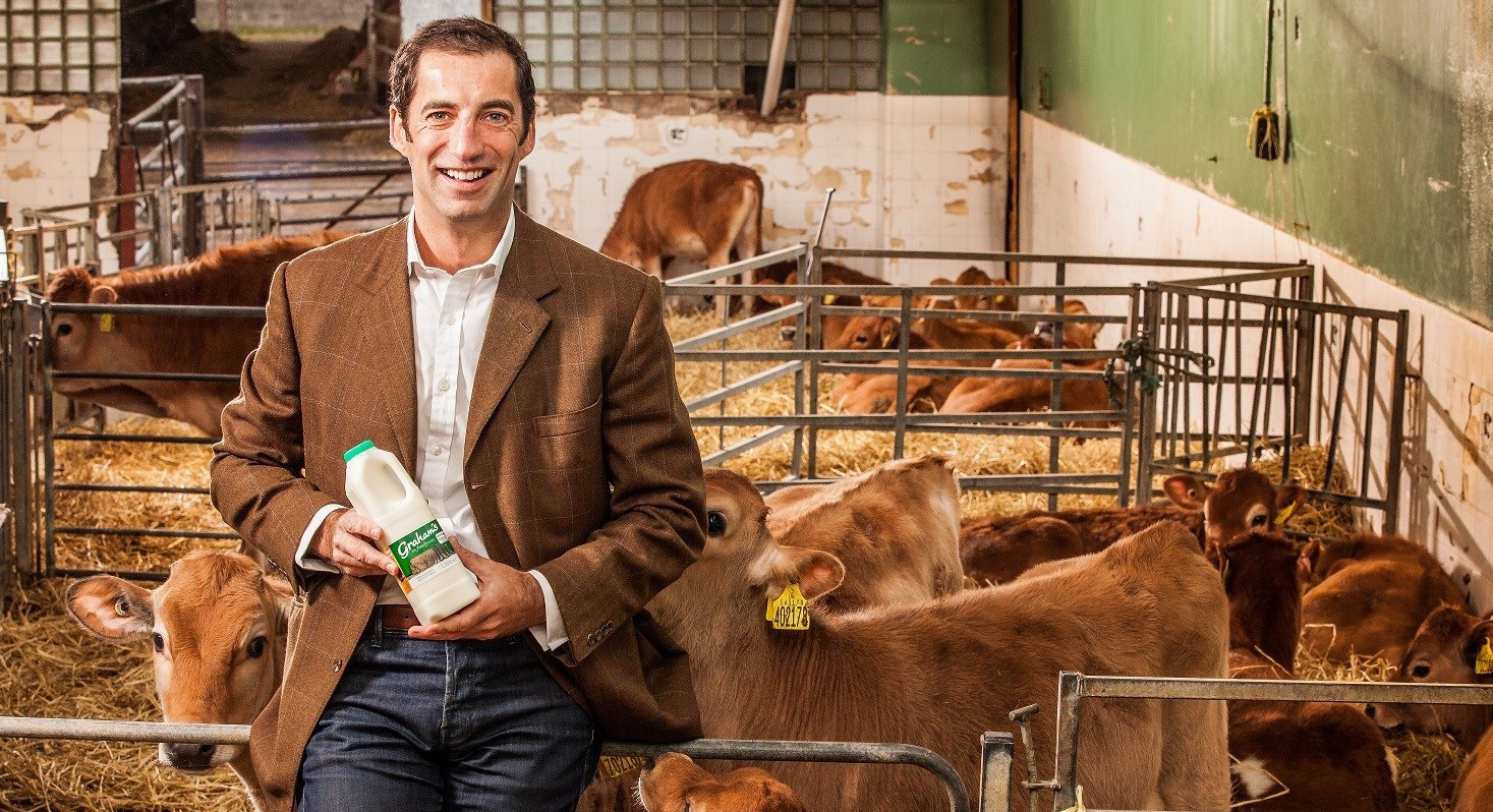 Robert Graham, managing director of Grahams Family Dairies, is on the expert panel