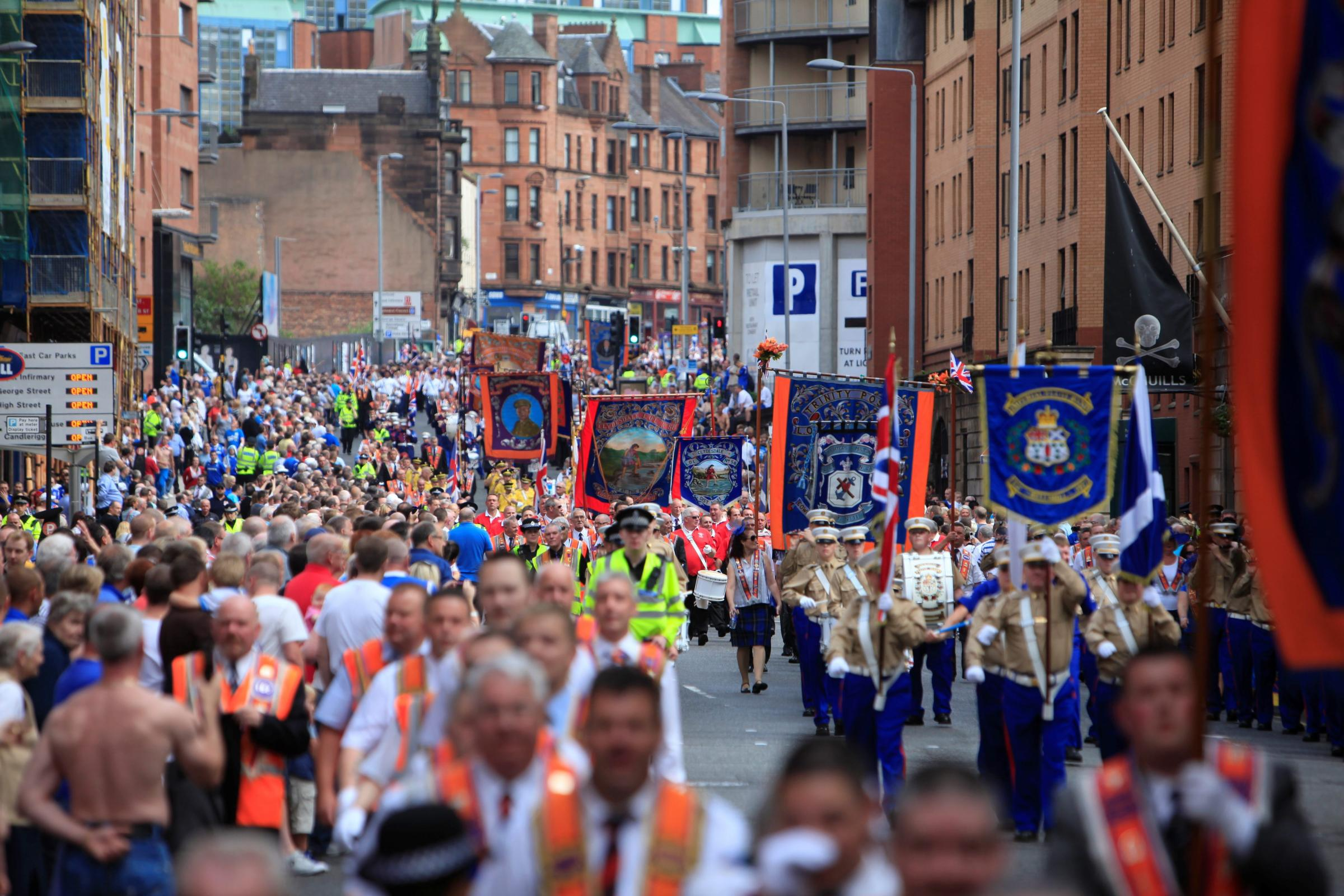 Petition to ban Orange walks in Glasgow reaches 40,000 signatures