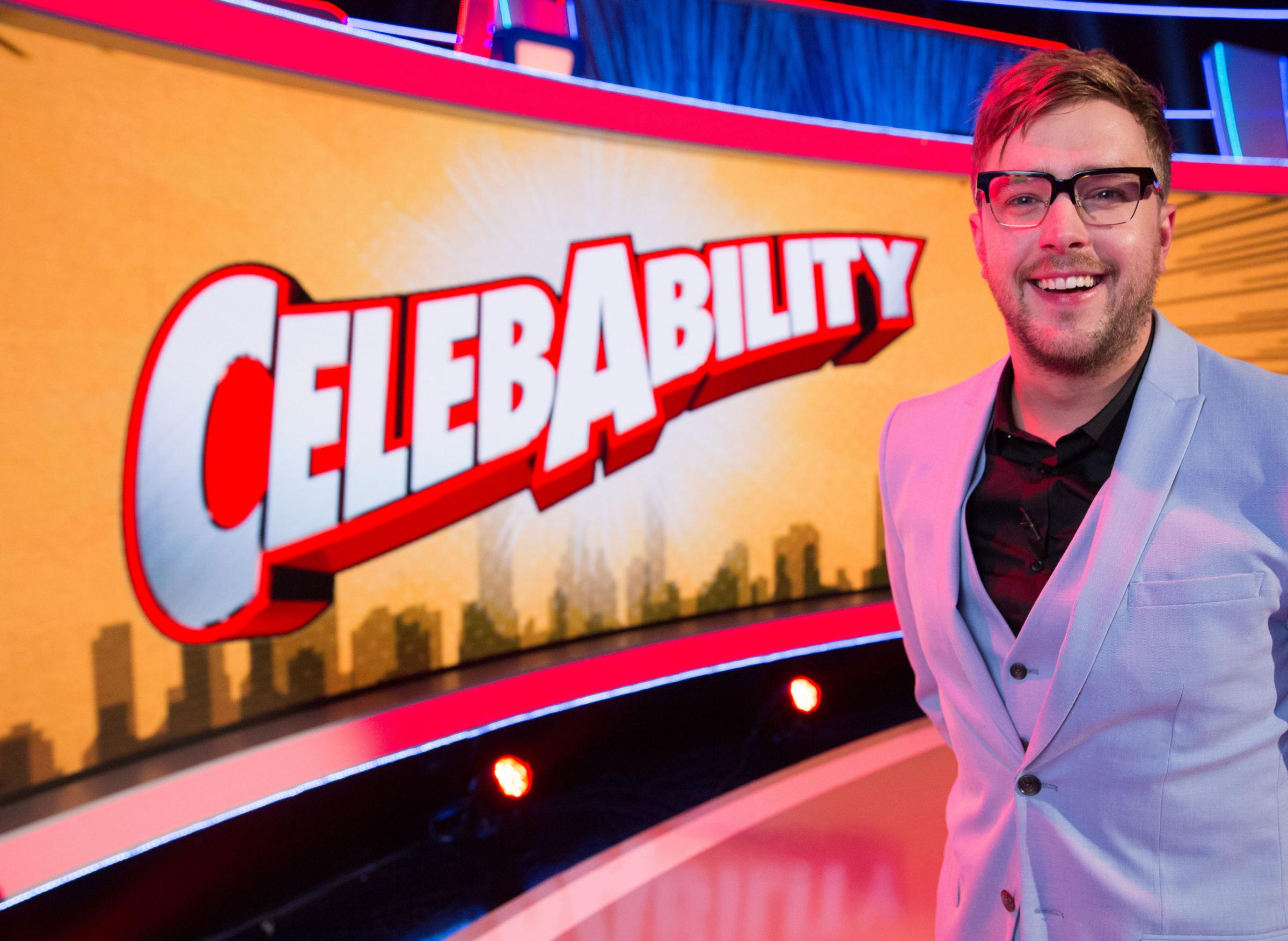 Iain Stirling hosts game show CelebAbility