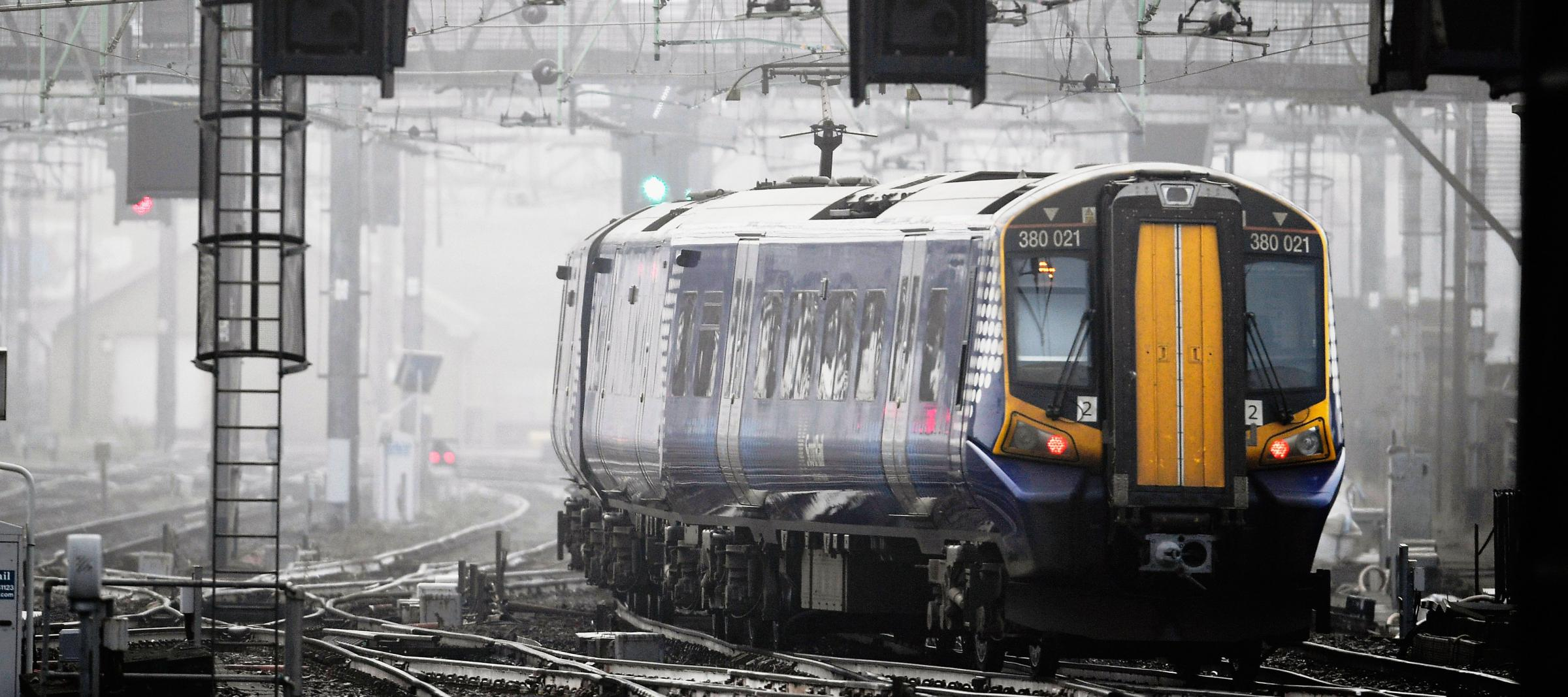 A ScotRail staff member said 'it happens more often than you'd think'