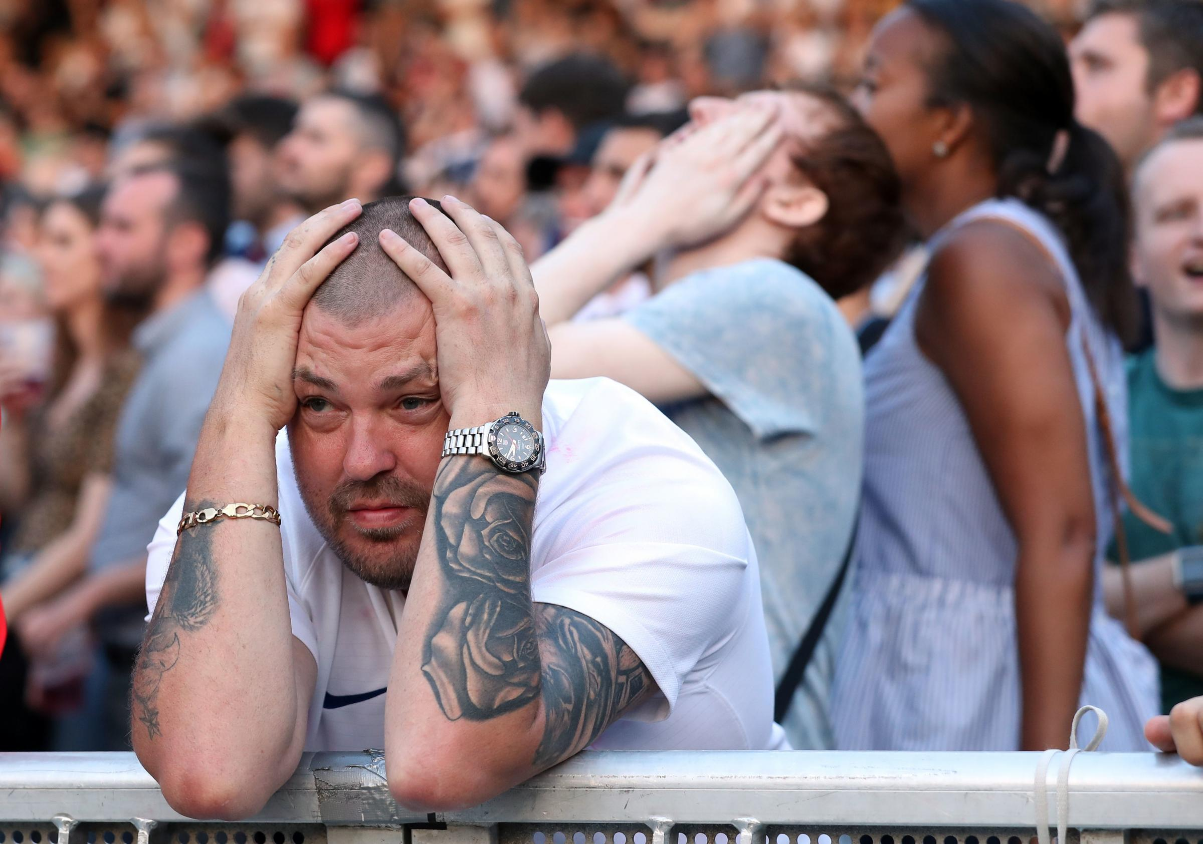 England exited the World Cup after a semi-final defeat to Croatia