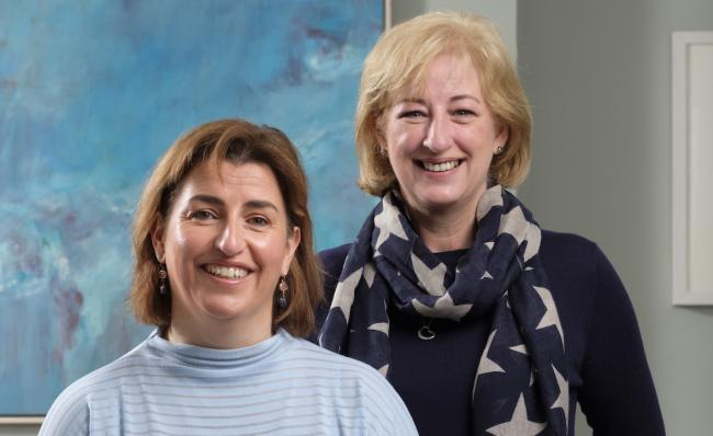 Sisters Debbie Byers, left, and Carol Graham launched the Edinburgh business this year