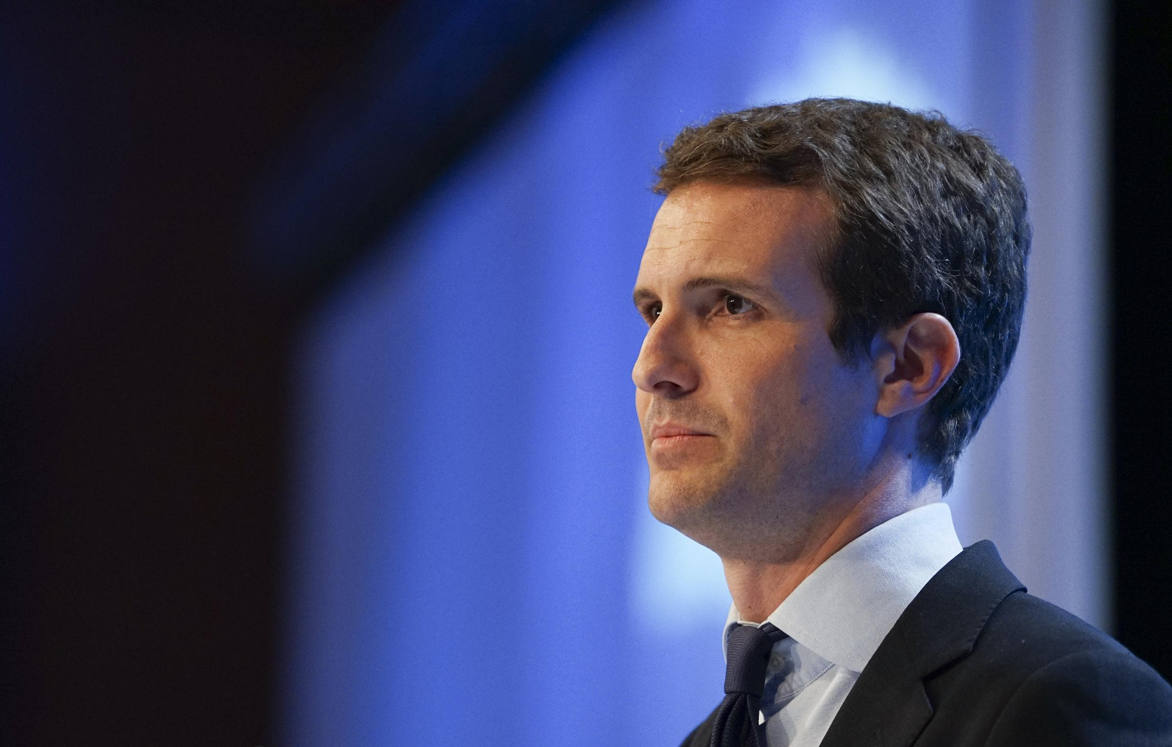 The university said it has no documentation of Pablo Casado submitting essays. Photograph: Getty