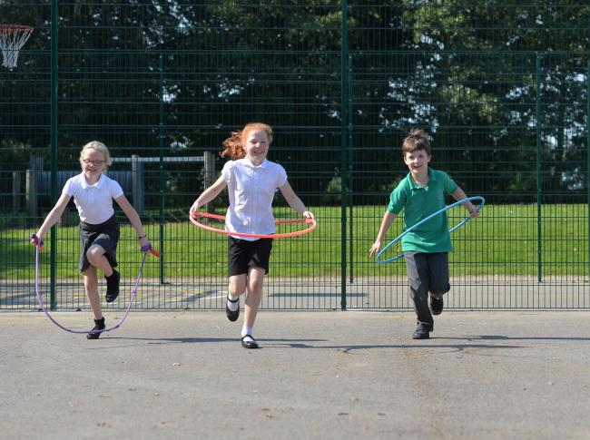 The On Our Marks project has created a culture of daily physical activity in a north Glasgow primary school