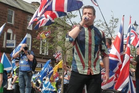 Holocaust-denying unionist sings about Brexit in bizarre video