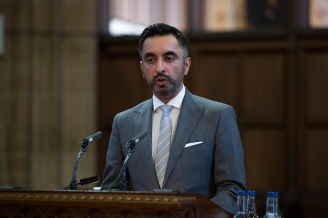 Human rights lawyer Aamer Anwar launched an attack on the Tory government over its immigration policy