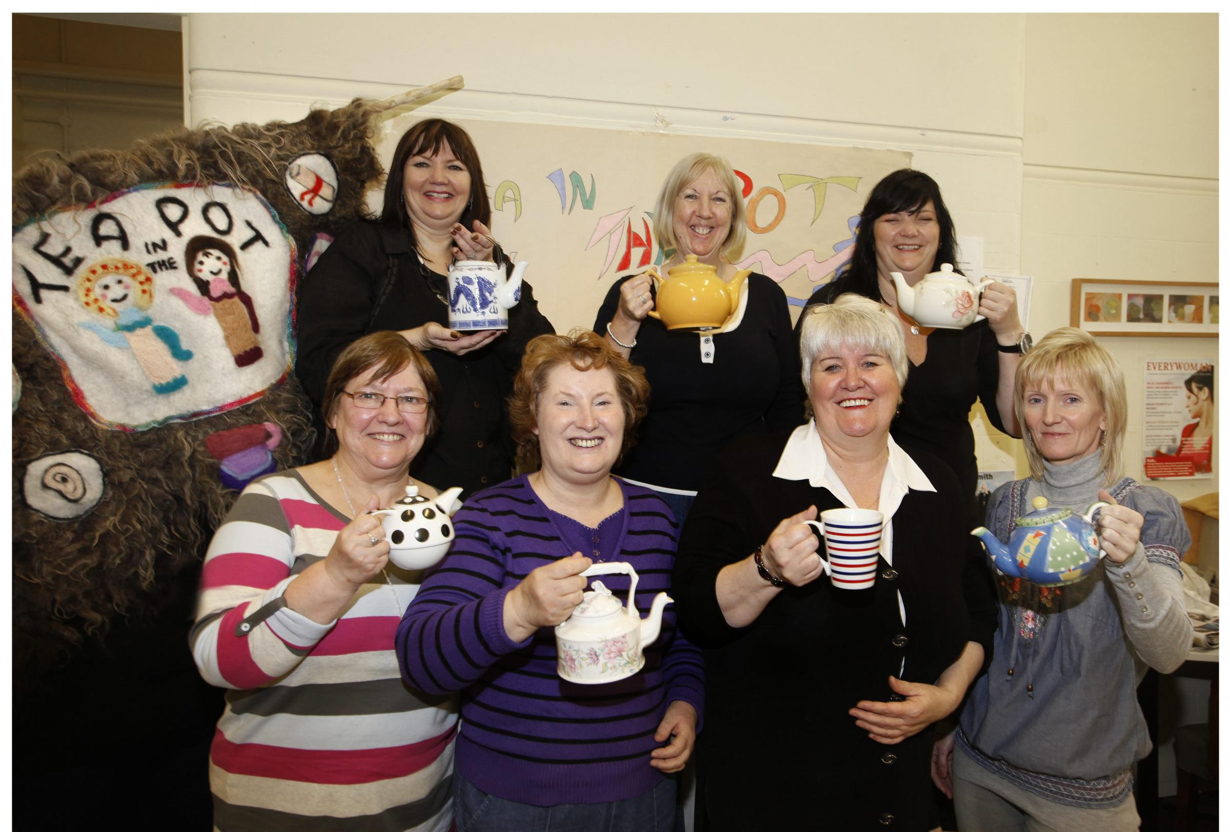 Tea in the Pot was established as a drop-in centre and support service for women
