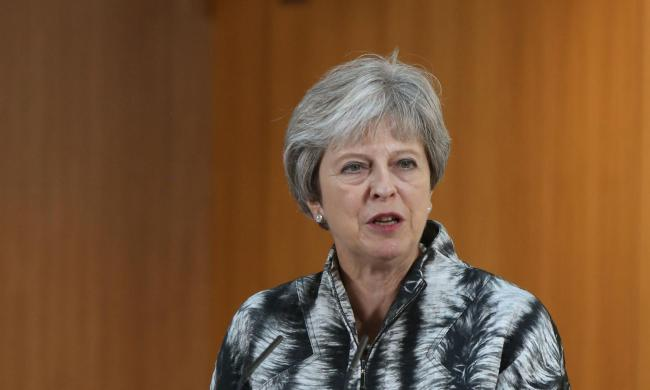 Theresa May said she wanted to see the Scottish Government support proposals the Tories have put to the EU