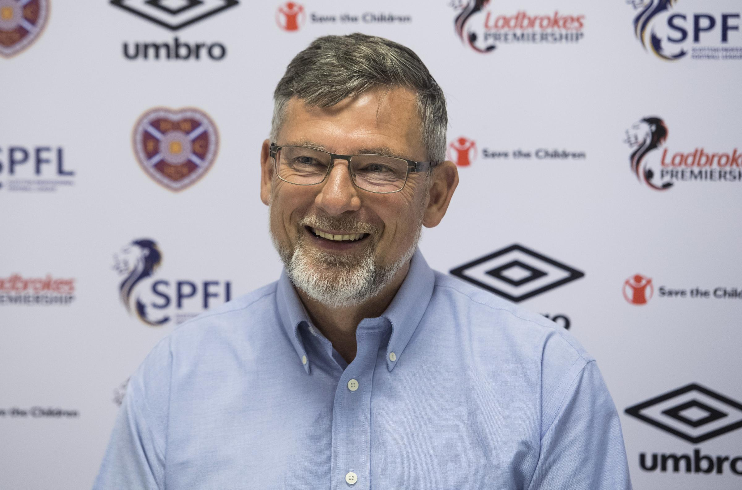 09/08/18. THE ORIAM - EDINBURGH. Hearts Manager Craig Levein.