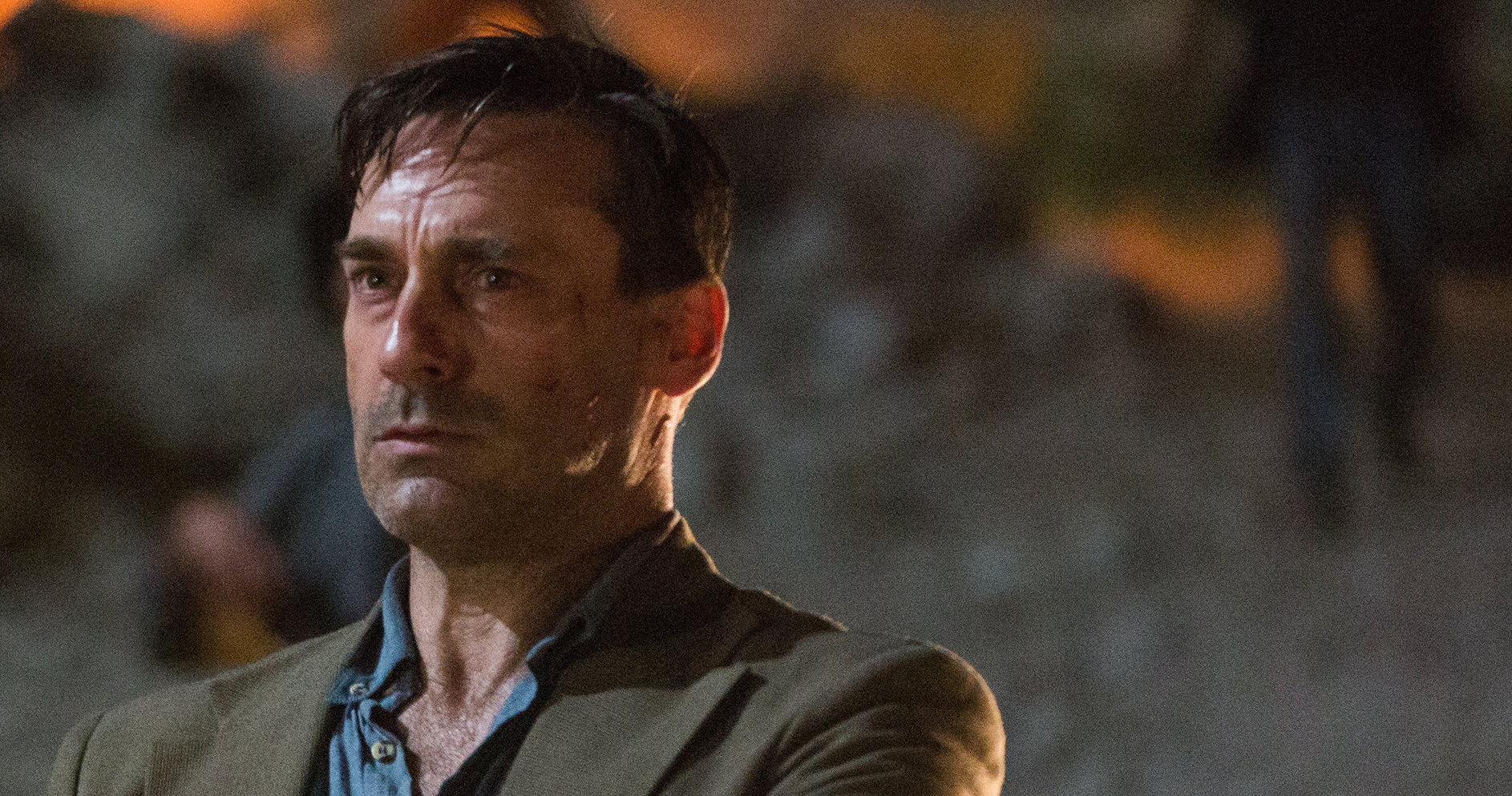 Jon Hamm is perfectly cast as a troubled, tough-talking alcoholic