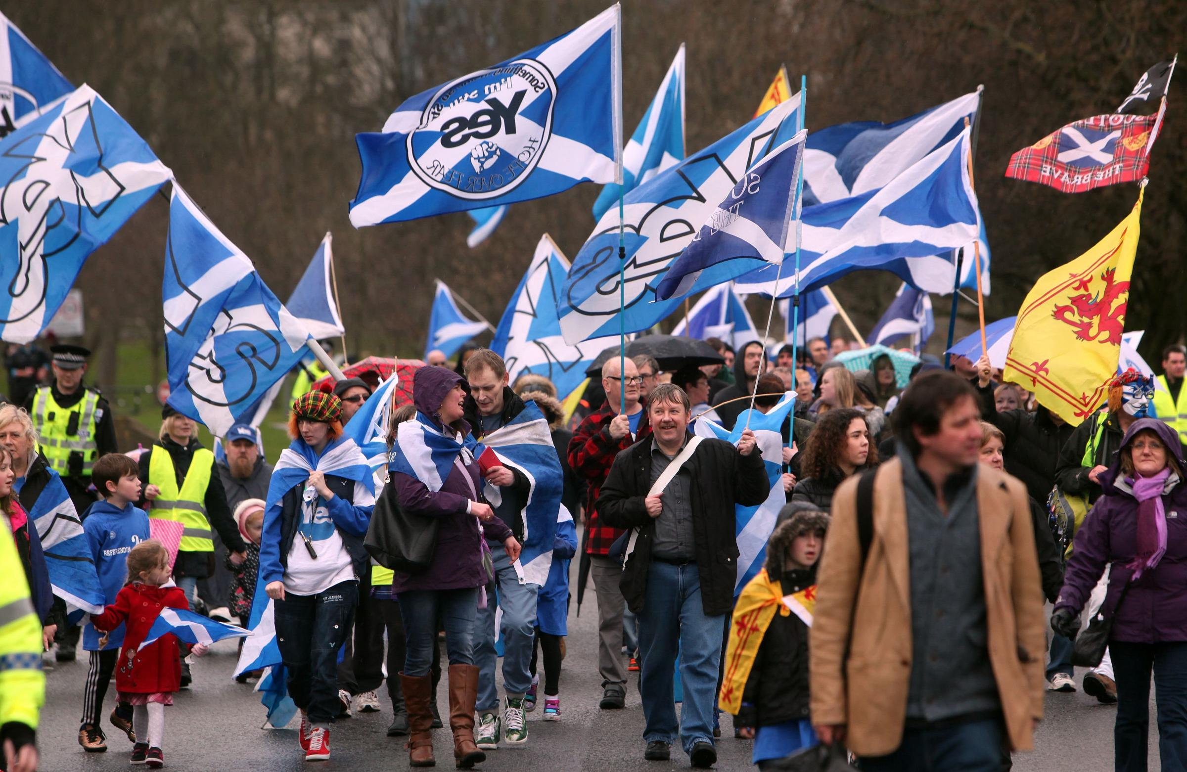 MacAskill's comments follow a series of pro-independence events across Scotland