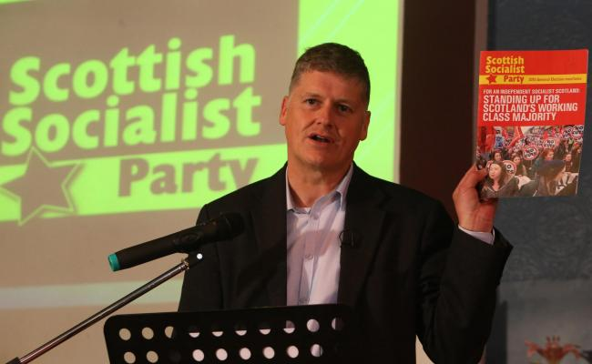 Colin Fox of the Scottish Socialist Party had been criticised in the resignation letter