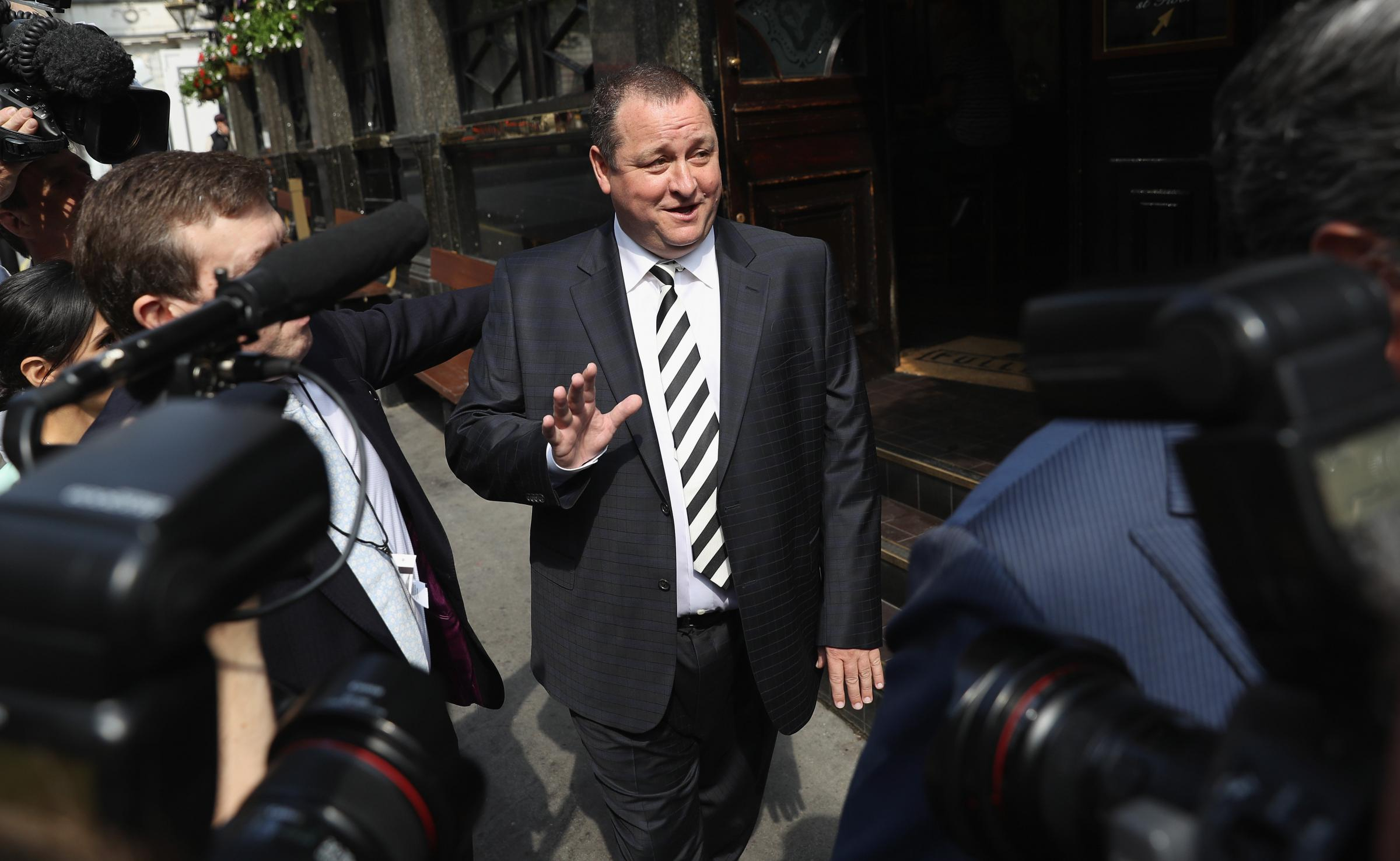 Mike Ashley started out with a £10,000 loan – and is now worth £1.9bn