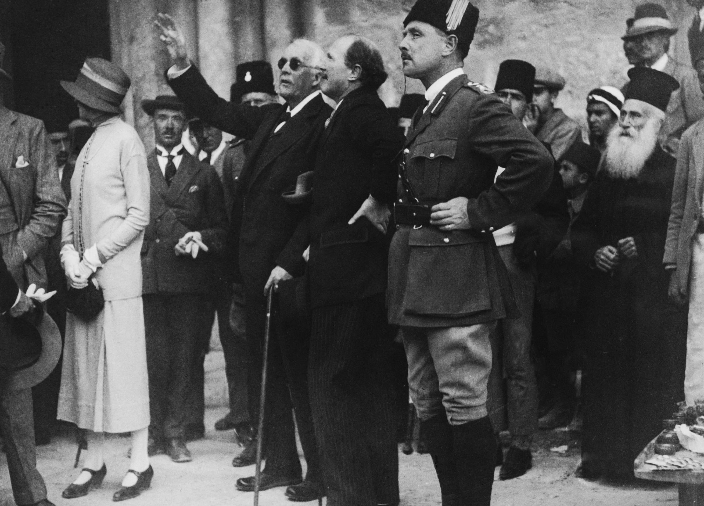 The Balfour Declaration is not ancient history. Photograph: Getty