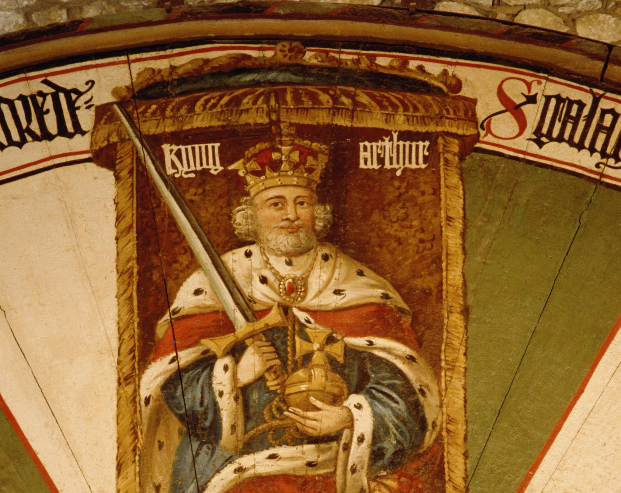 The identity of the 'real' King Arthur has been long disputed