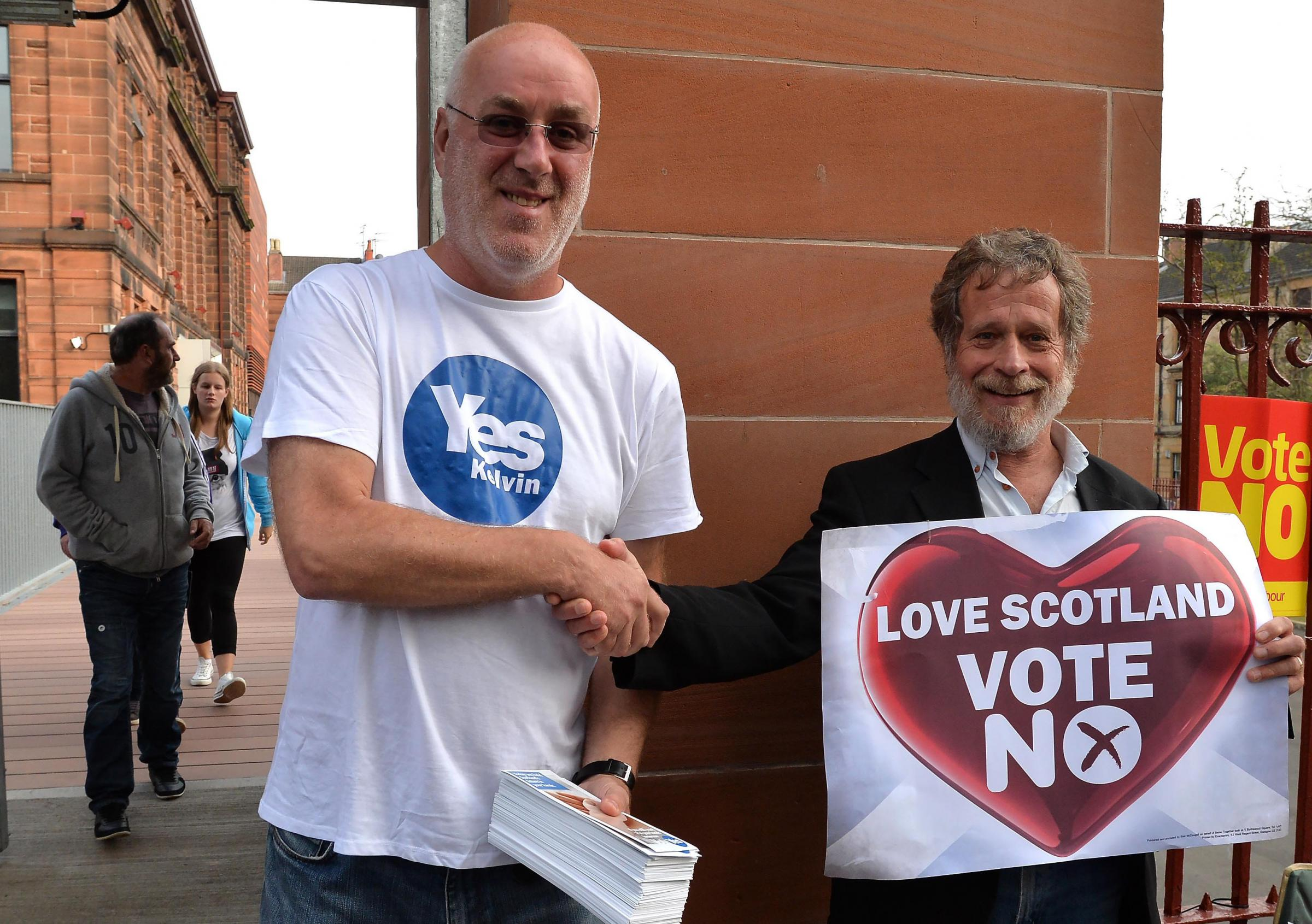 Bringing Yes and No voters together can be a positive and constructive experience