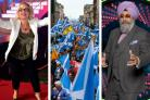 Sally Morgan and Hardeep Singh Kohli clashed over the issue of Scottish independence