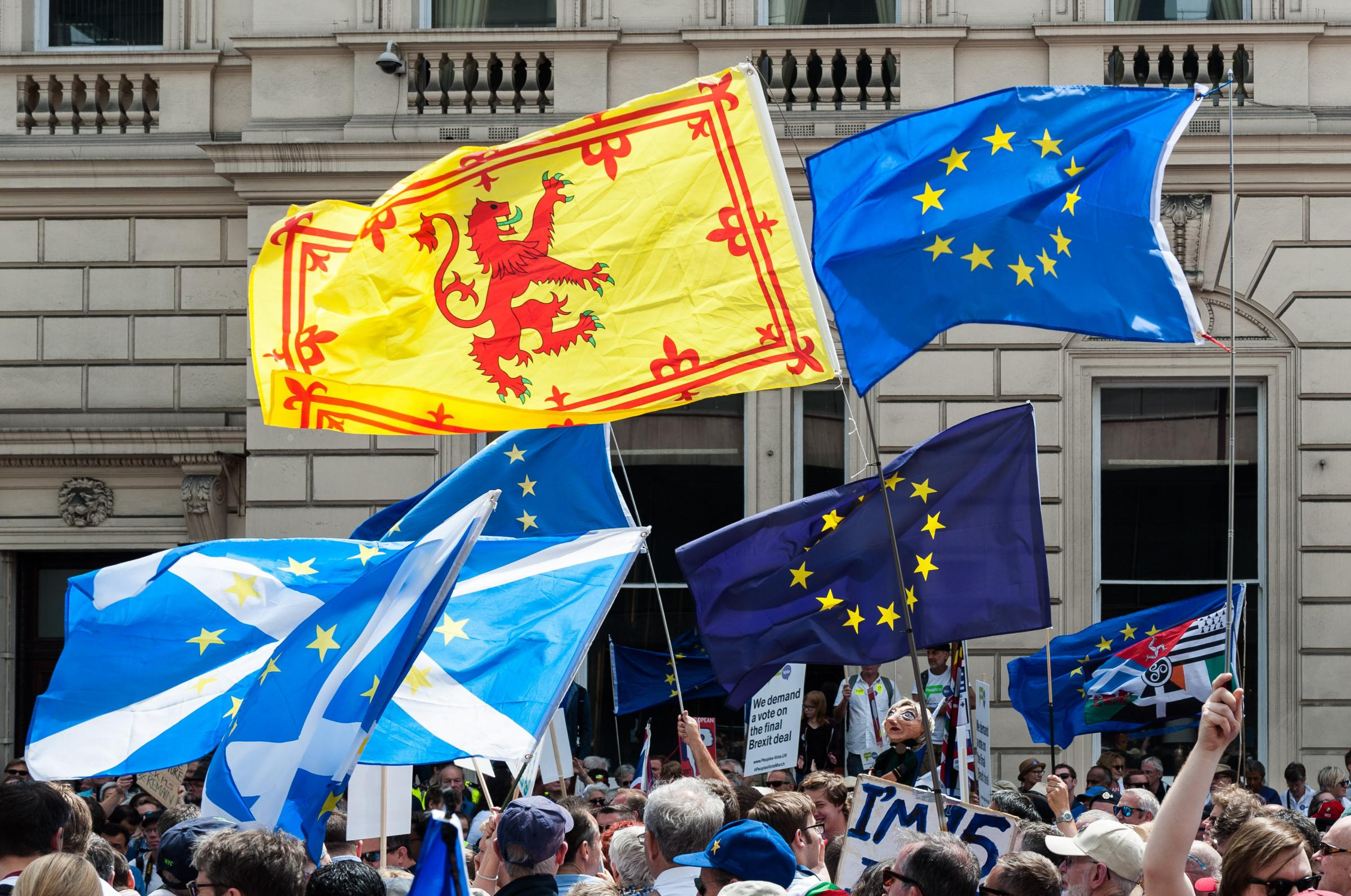 62% of Scots voted to Remain in 2016