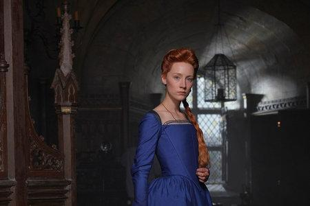 Saoirse Ronan in the forthcoming movie Mary, Queen of Scots