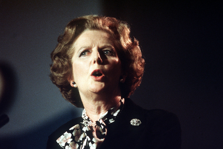 Margaret Thatcher – apparently an icon of Labour's 'radical, progressive' wing