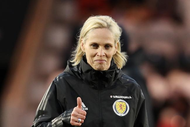 Shelley Kerr, coach for the women's national football team