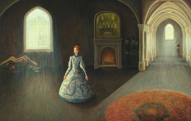 New paintings will be displayed in Edinburgh featuring Mary as a woman 'filled with hopes and dreams'