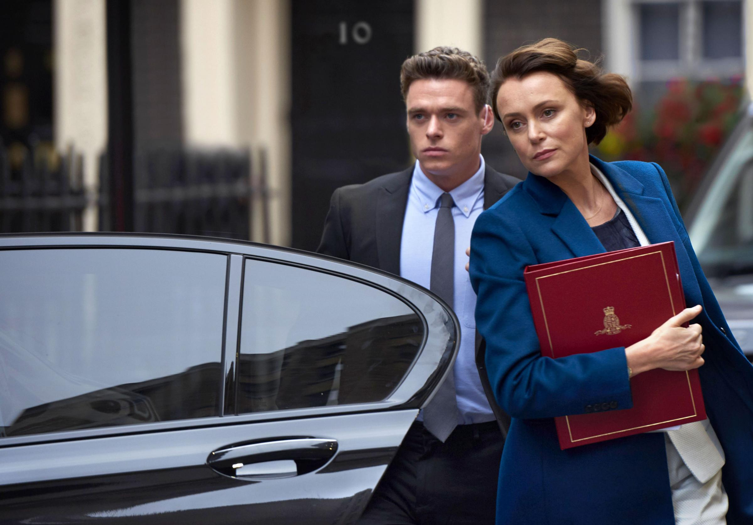 Keeley Hawes's character in Bodyguard wants to increase police surveillance powers